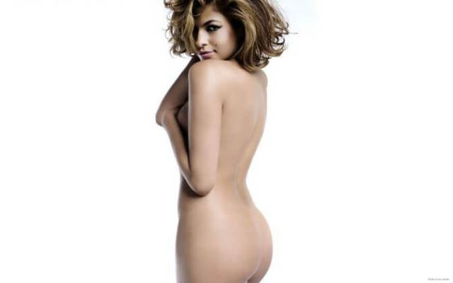 eva mendes sexy topless pic