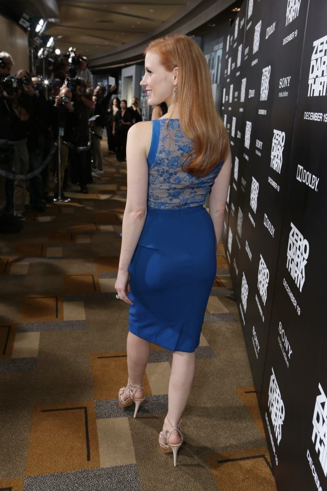 jessica chastain ass picture