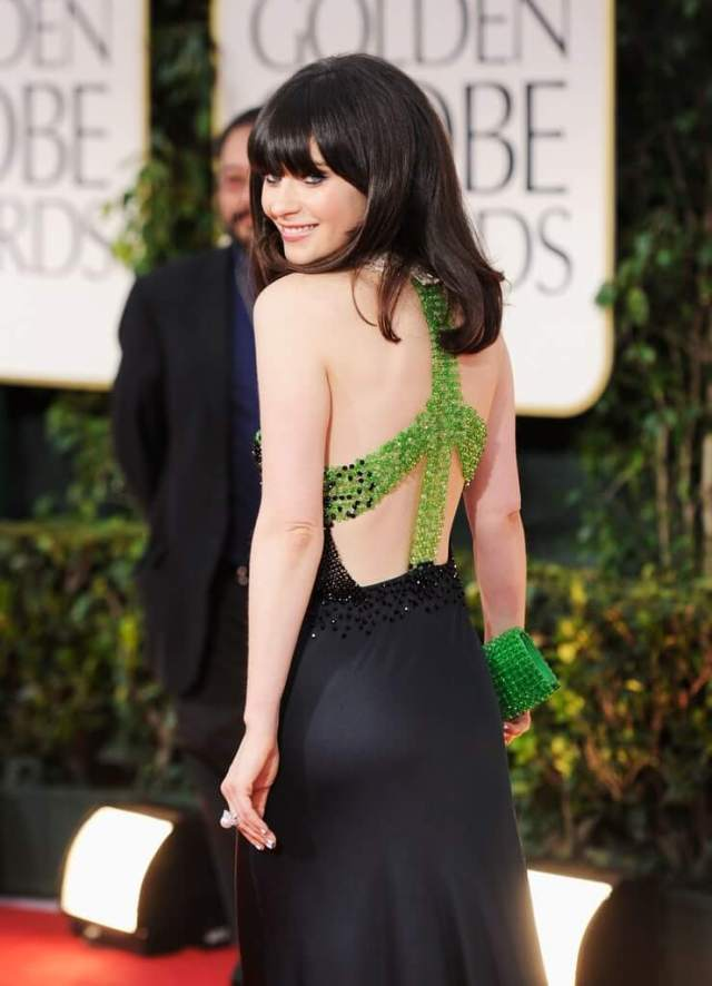 zooey deschanel sexy butts