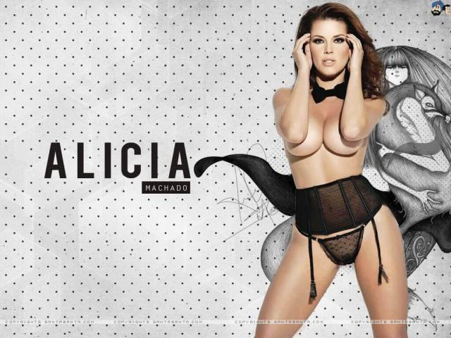 Alicia Machado sexy nude pictures