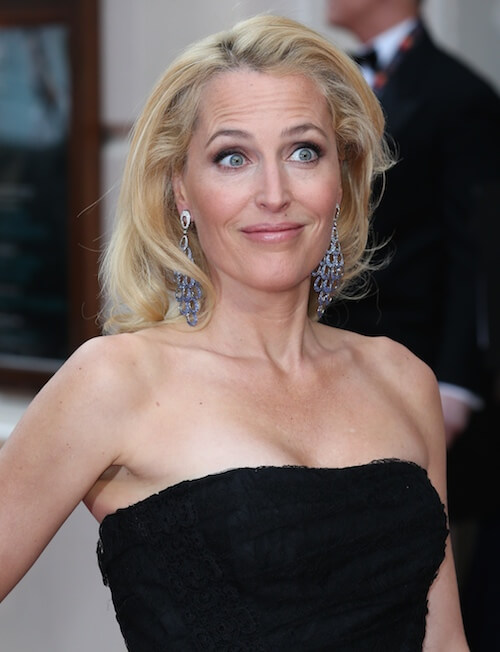 Gillian Anderson hot cleavage pictures (7)