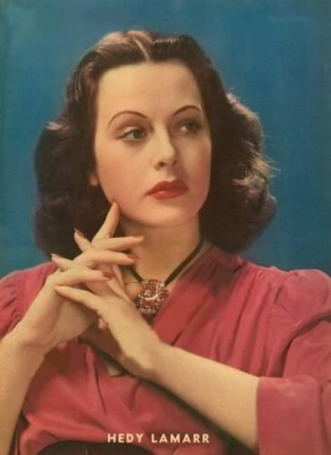 Hedy Lamarr awesome pic