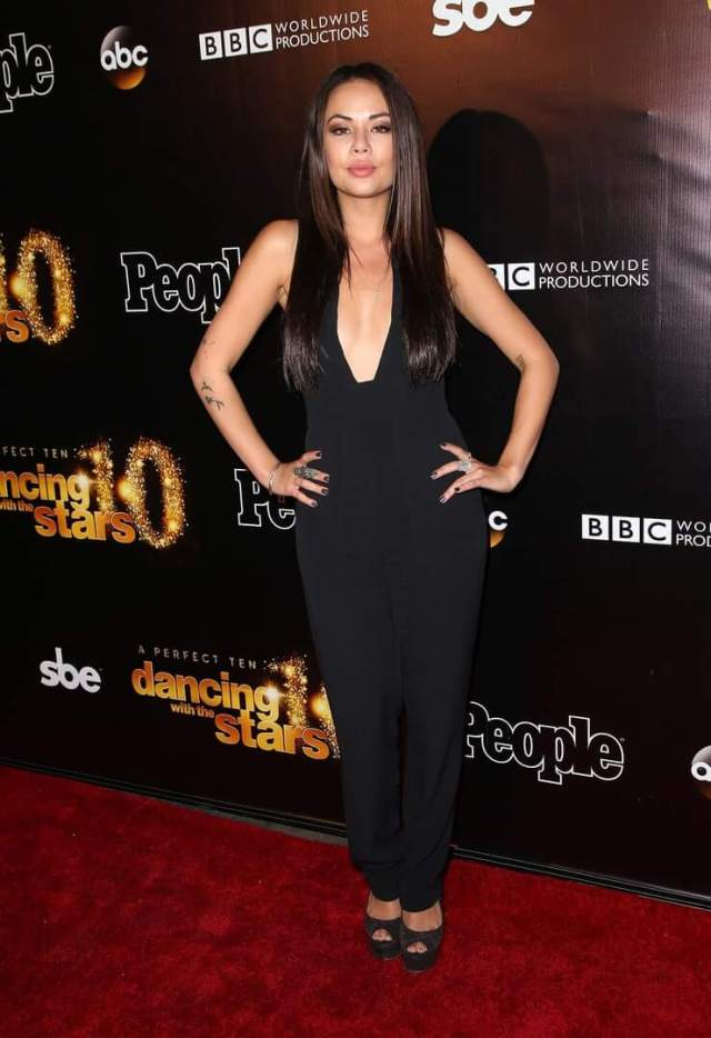 Janel Parrish cleavage pictures (1)