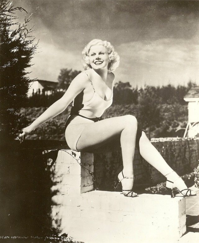 Jean Harlow ass pic
