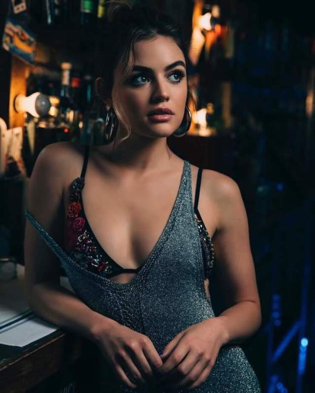 Lucy Hale sexy boobs pictures (1)