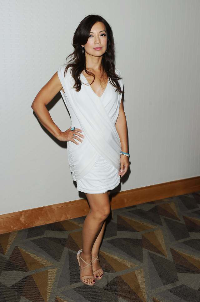 Ming-Na Wen sexy thighs pic