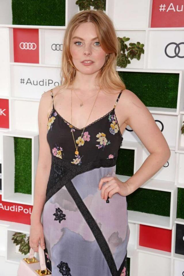 Nell Hudson hot look
