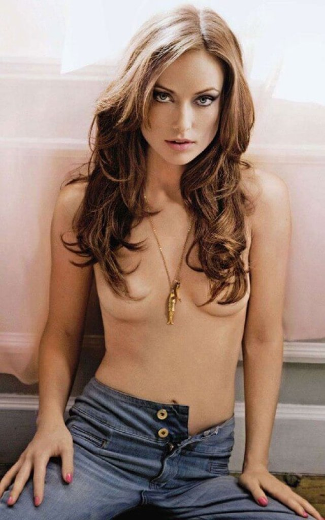 Olivia Wilde topless pic
