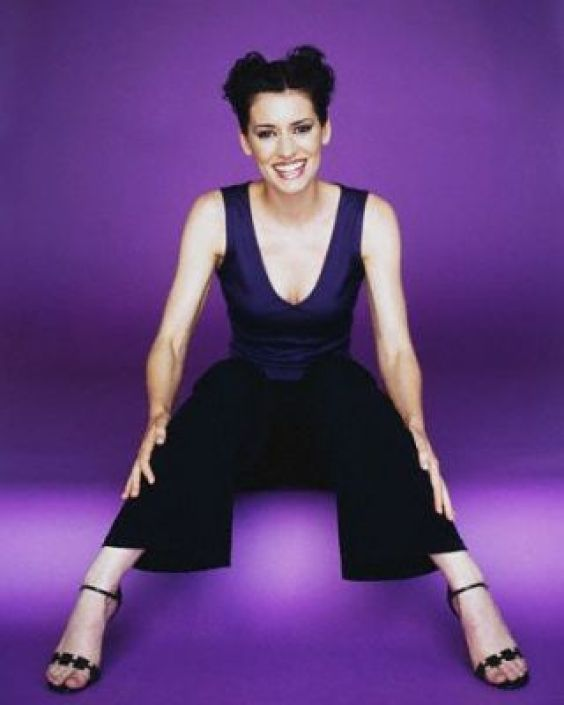 Paget-Brewster feet awesome