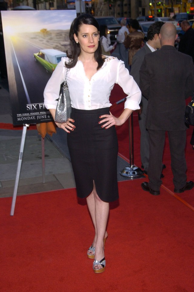 Paget-Brewster feet pictures