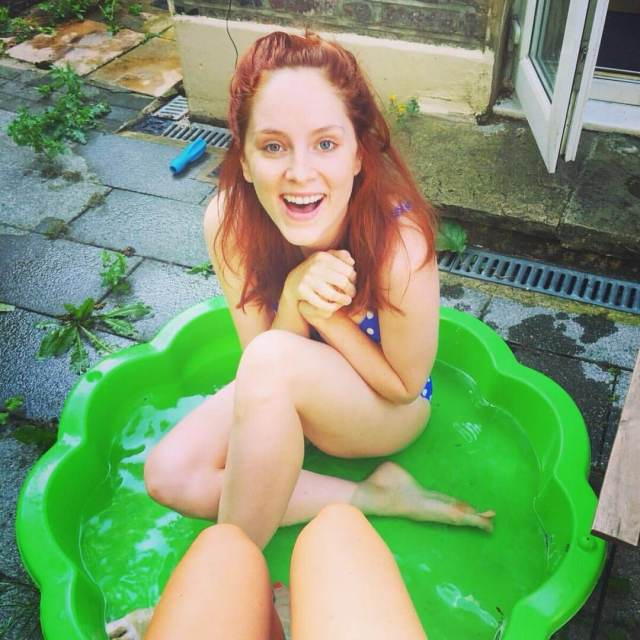 Sophie Rundle hot smile pic