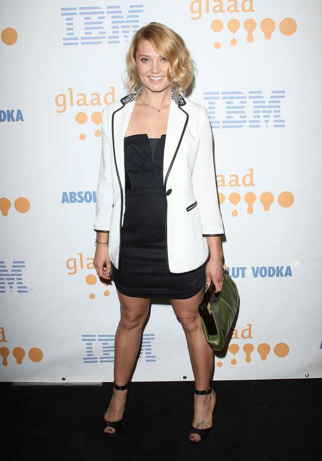 Spencer Grammer feet awesome