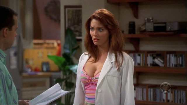 april bowlby sexy cleavage pics (2)