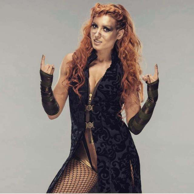 becky lynch sexy cleavage photo