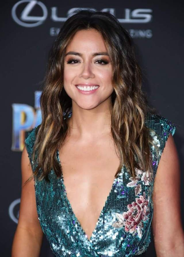 chloe bennet cleavage pic