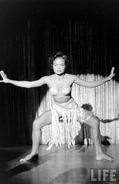 Eartha Kitt feet hot