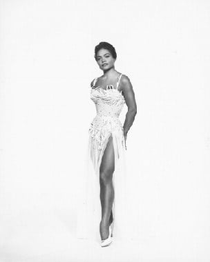 Eartha Kitt sexy boobs