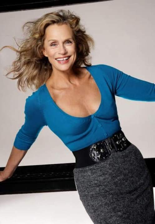 Lauren Hutton sexy cleavage pic