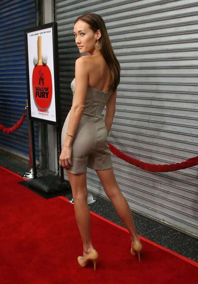 Maggie Q ass pictures (1)