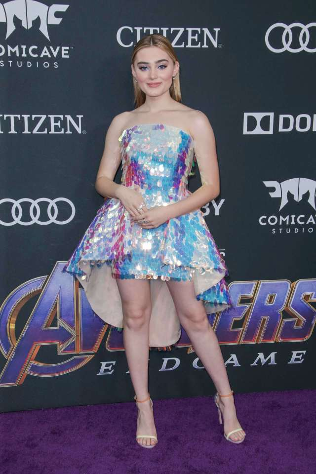 Meg Donnelly beautiful feet image
