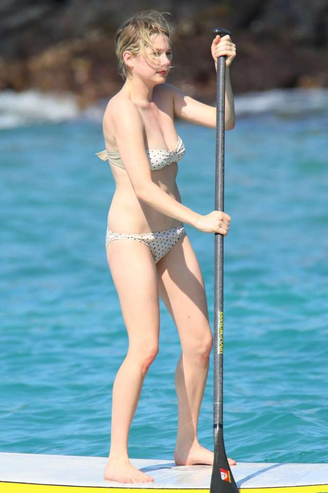 Michelle Williams bikini