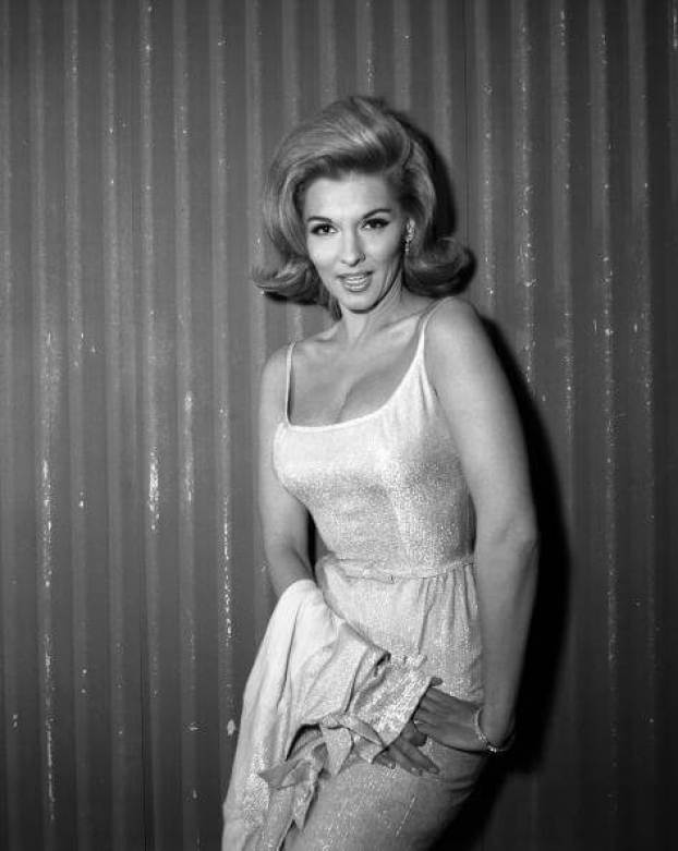 Nancy Kovack side boobs