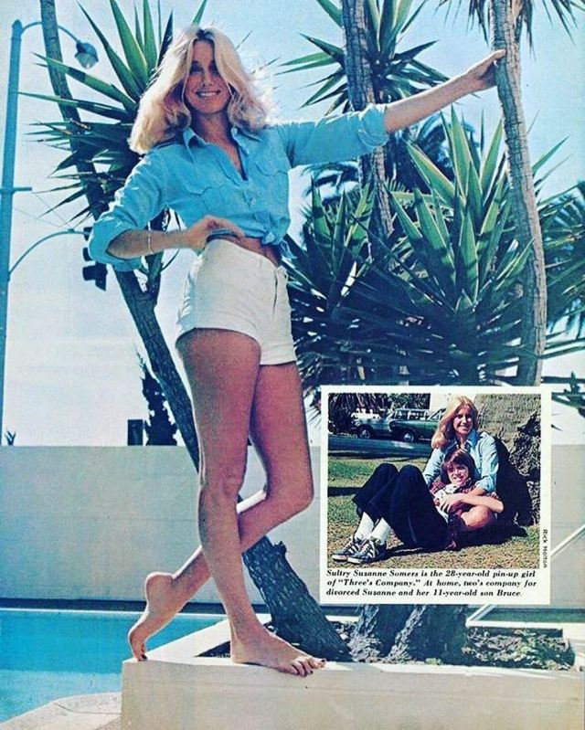 Suzanne Somers legs