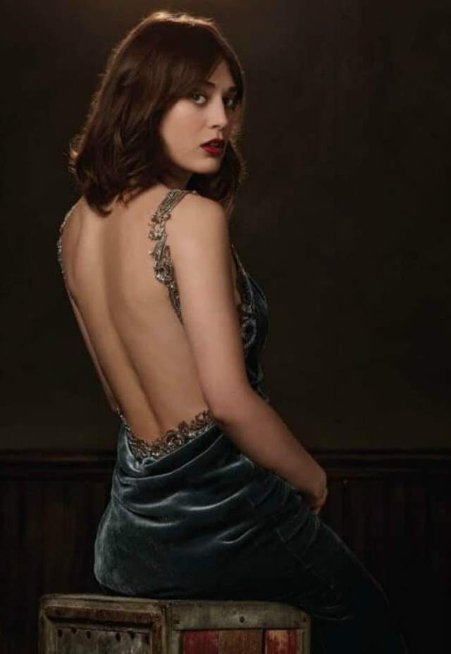 lizzy caplan backless