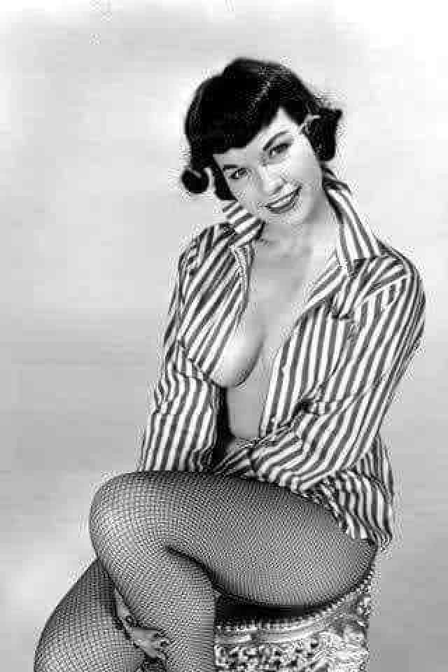 Bettie Page hot