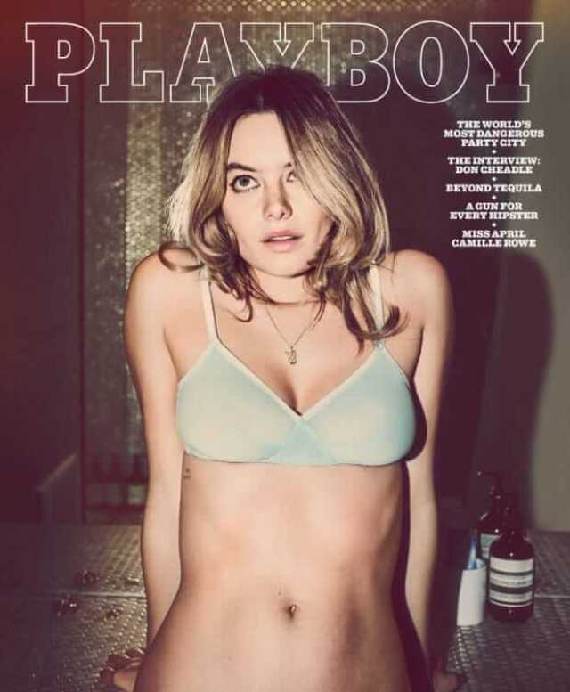 Camille Rowe cleavage