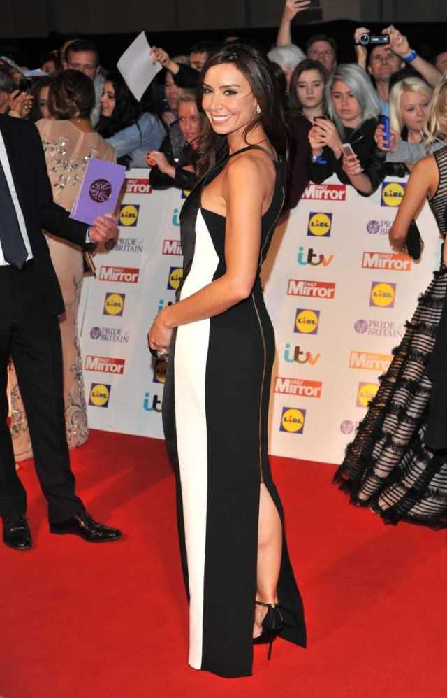 Christine Louise Lampard sexy side butt pics