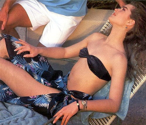 Brooke Shields awesome pic