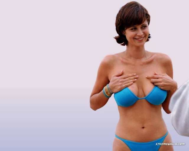 Catherine Bell sexy boobs