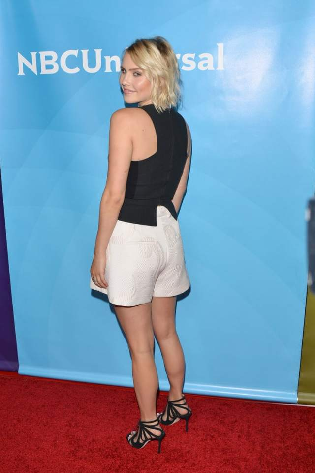 Claire Holt sexy butt