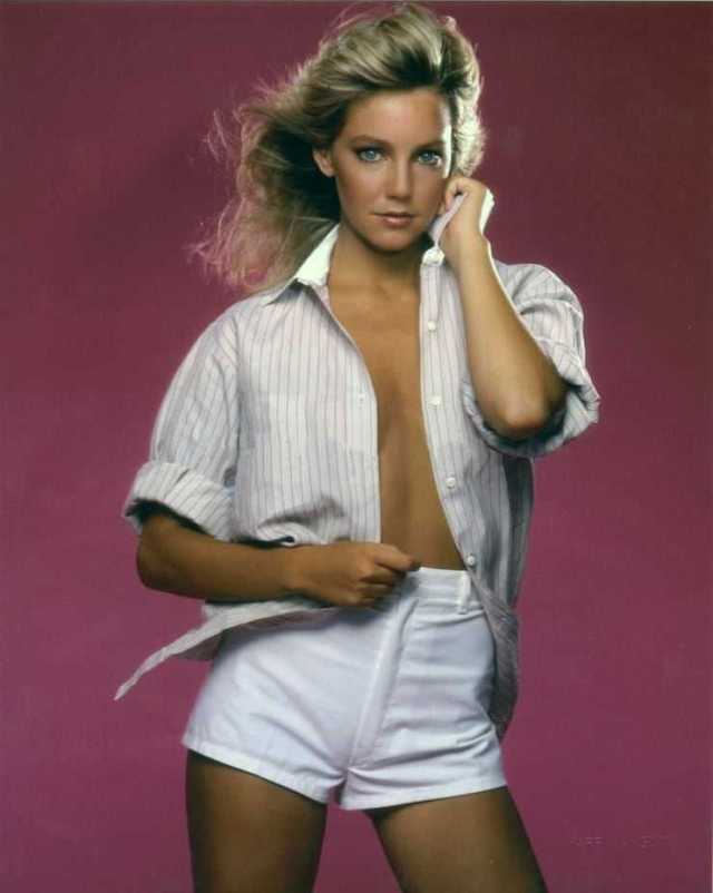 Heather Locklear hot look pictures