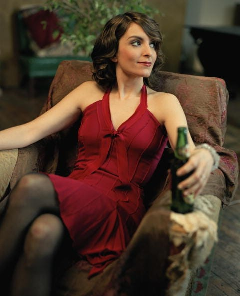 Tina Fey hot cleavage pics
