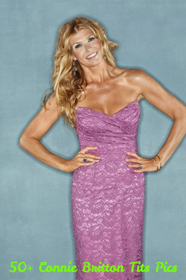 Connie Britton dress