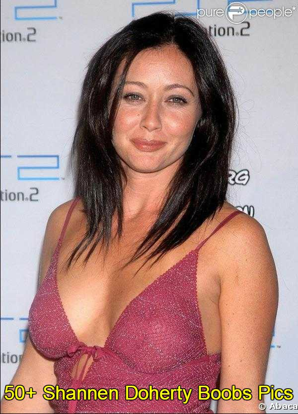 Shannen Doherty side boobs pics
