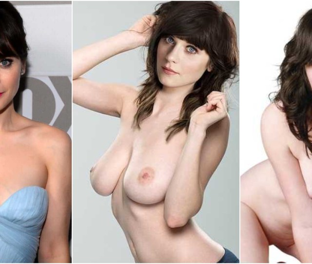 Nude Pictures Of Zooey Deschanel Demonstrate That She Is As Hot