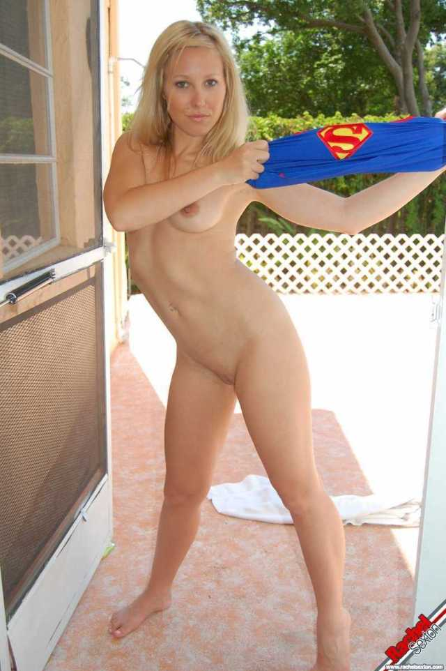 Superwoman naked