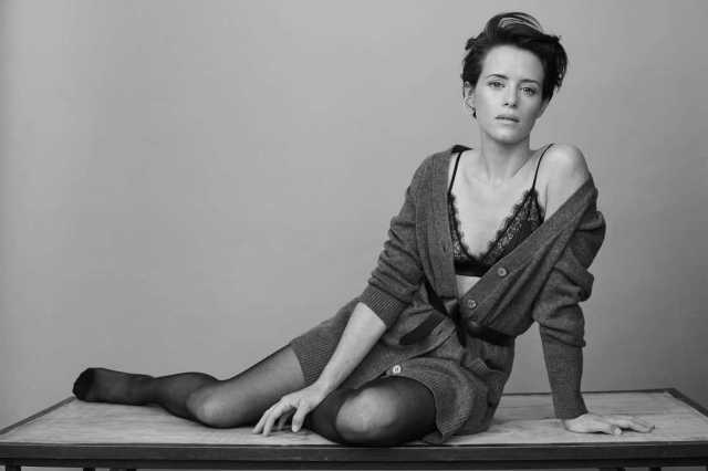 Naked foy Claire Foy