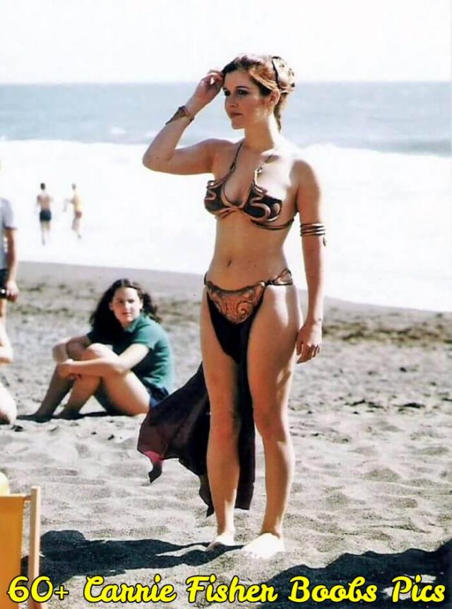 carrie fisher boobs pics
