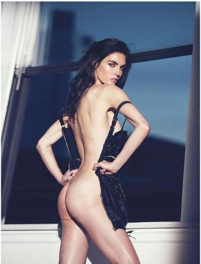 Hilary Rhoda butt pictures