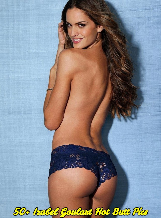 Izabel Goulart hot butt pics