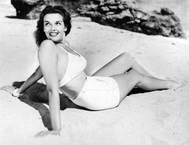 Jane Russell sexy back pics