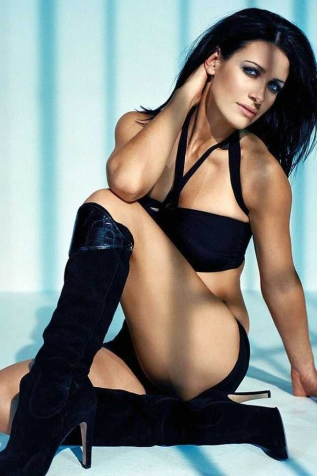 Kirsty Gallacher booty pics