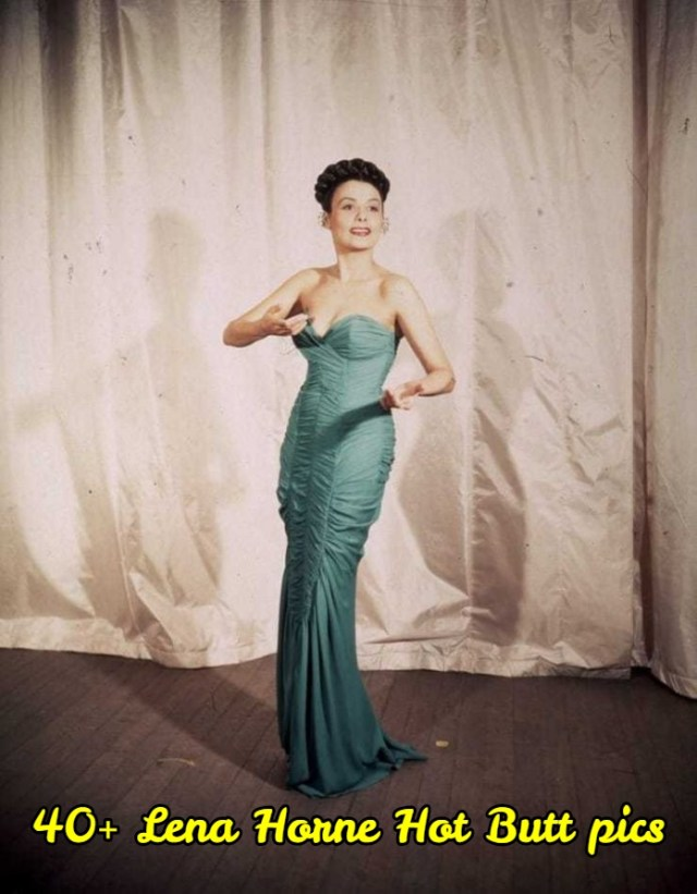 Lena Horne sexy butt pictures
