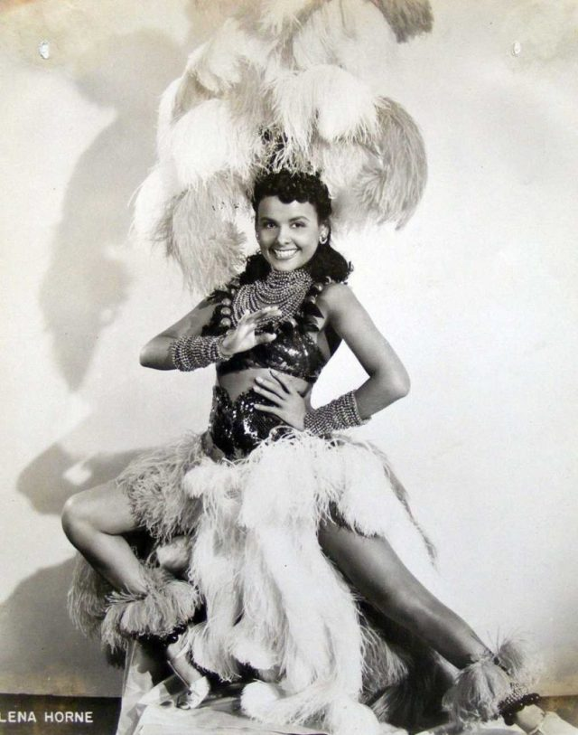 Lena Horne cleavages pics