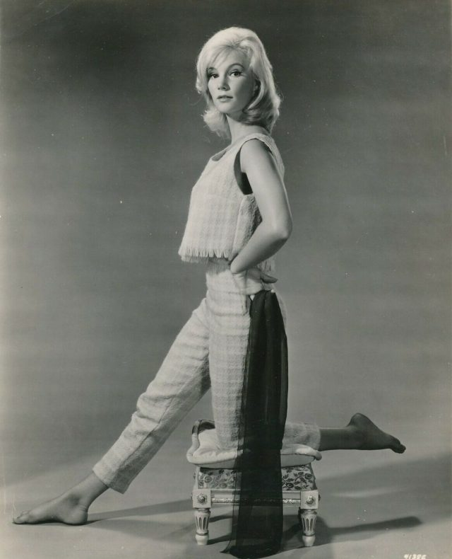 Yvette Mimieux side booty pics