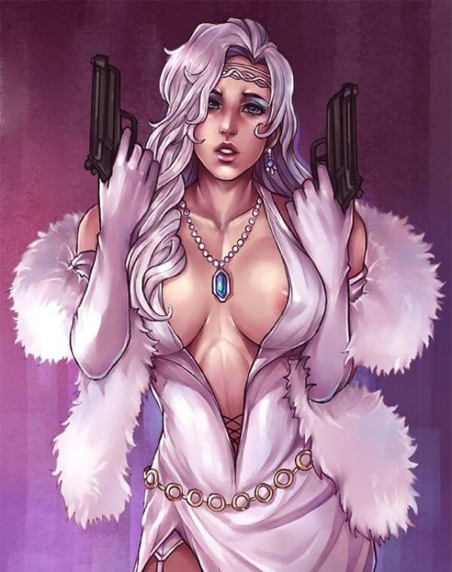 Silver Sable pussy pics